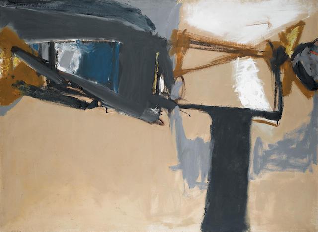 Trevor Bell (British, born 1930) Seaside 122 x 168 cm. (48 x 66 in.)