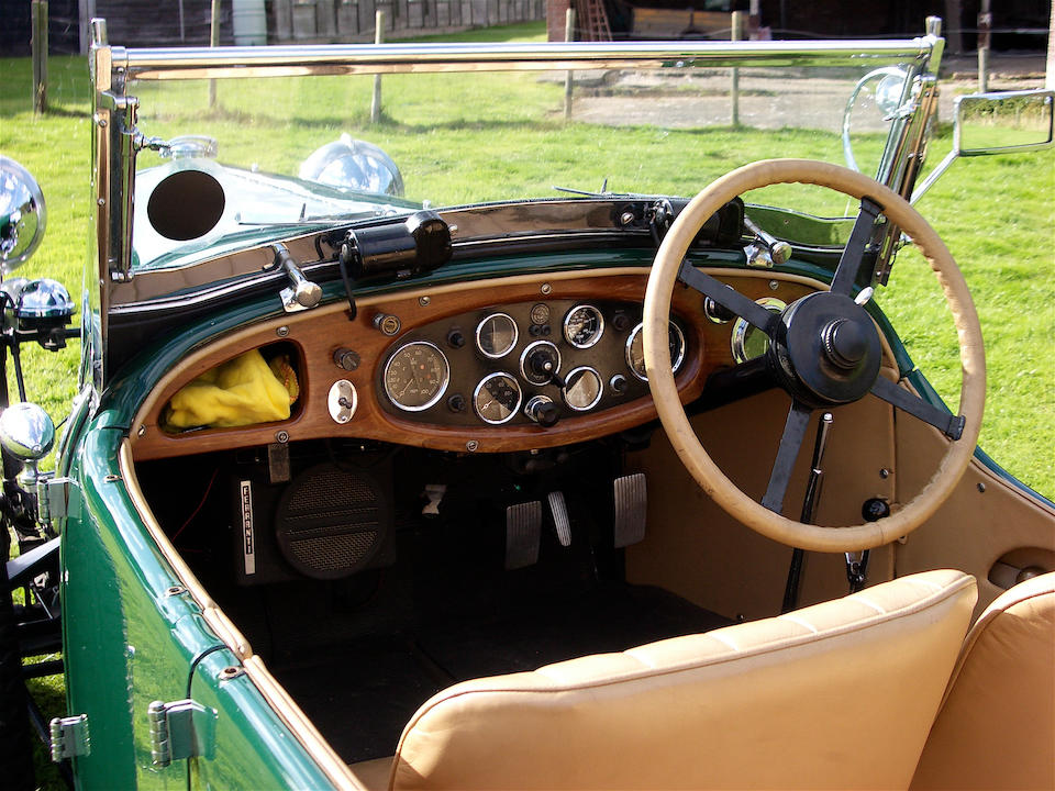 From 31 years in present ownership,1933 Lagonda 16/80 2-litre Four Seat Tourer  Chassis no. S10170 Engine no. S1920 (see below)