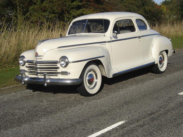 1948 Plymouth Special Deluxe Club Coupé  Chassis no. 12012947
