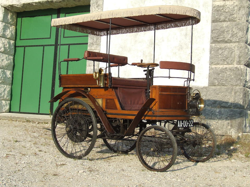 Two owners from new,c1899 Hurtu 3 1/2hp Dos-à-dos  Chassis no. 350 Engine no. 108
