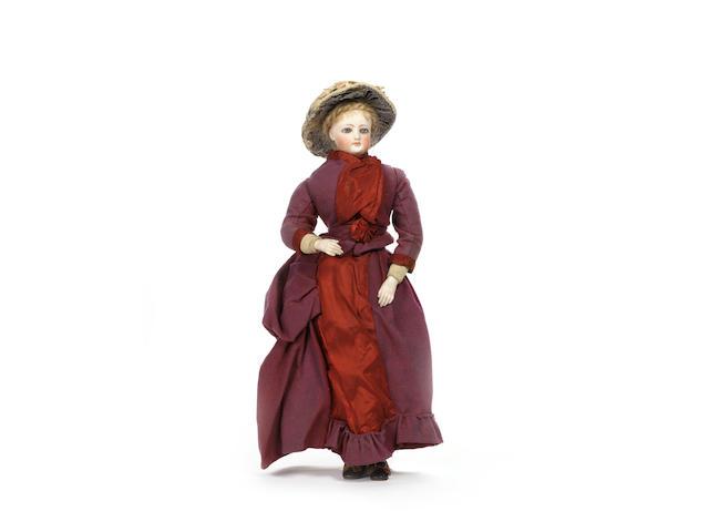 Francois Gaultier bisque shoulder head fashion doll