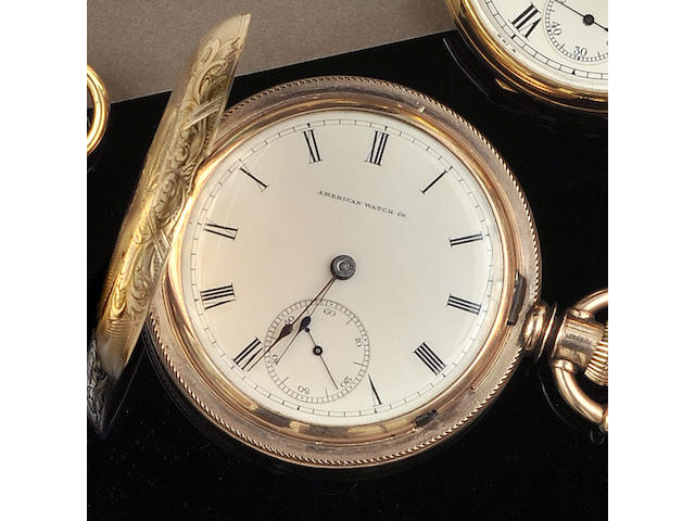 Waltham: A hunter pocket watch