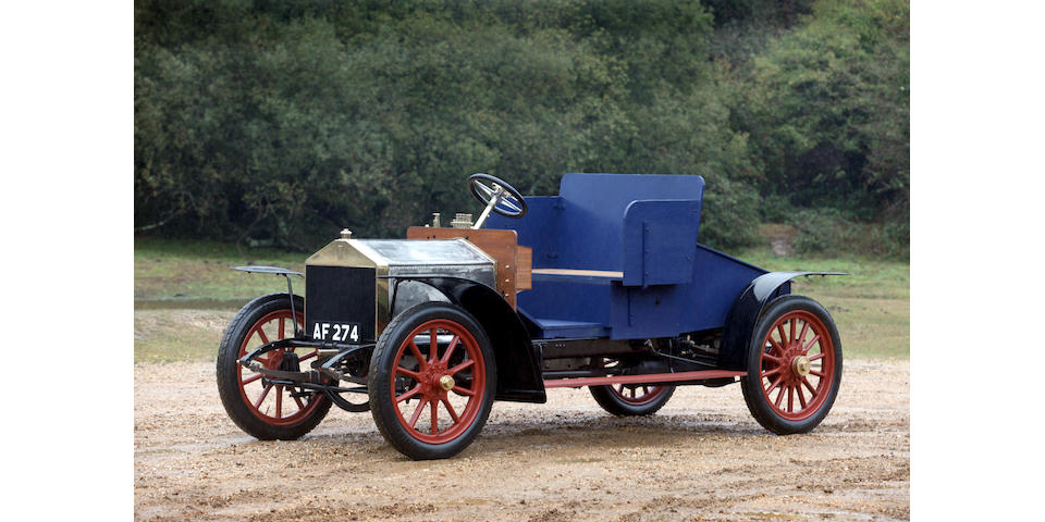 Formerly the property of the late Stanley Sears and the late Thomas Love,1906 Rolls-Royce Light 20hp  Chassis no. 40520 Engine no. 40519