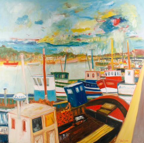 John Bellany, CBE RA HRSA LLD(Lon) (British, born 1942) 'Paimpol, Brittany'