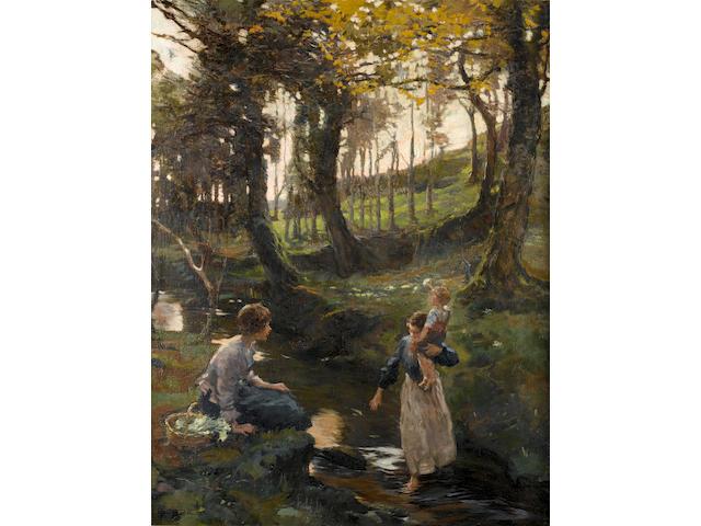 Elizabeth Adela Stanhope Forbes (Canadian, 1859-1912) The Ford
