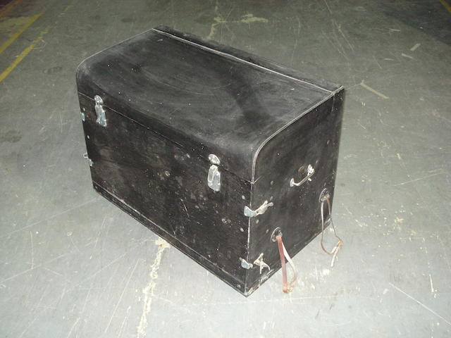 A Brexton luggage trunk,