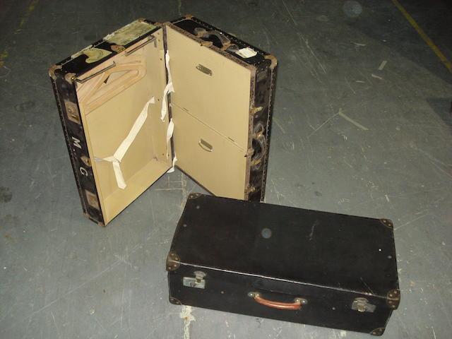 A suitcase sized wardrobe trunk by Watajoy, 1930s,