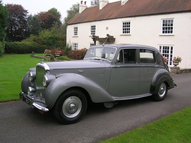1952 Bentley MkVI,