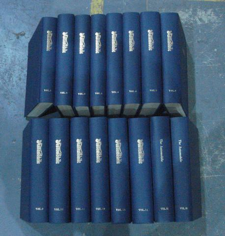 The Automobile; bound Volumes 1 to 16,