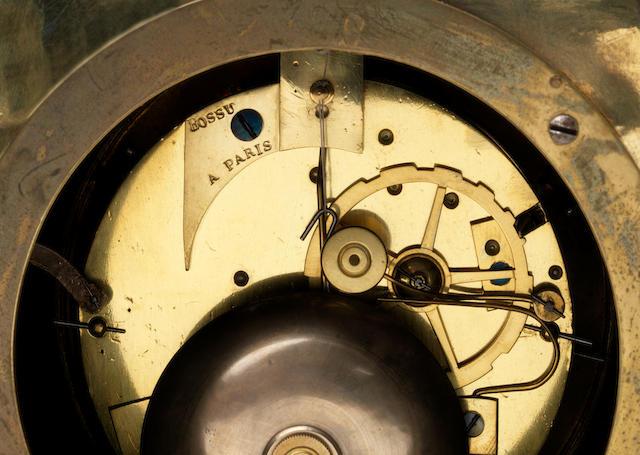 Bossu á Paris magician automaton timepiece