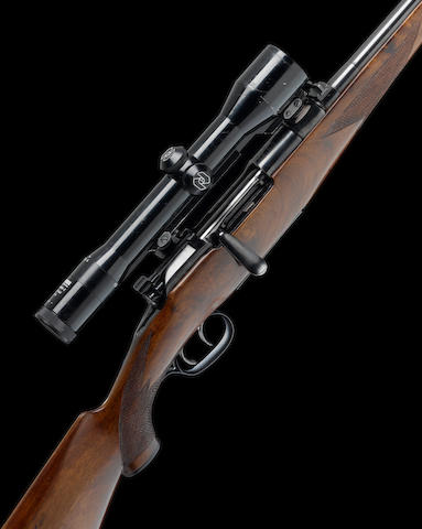 A 8x57(JS)mm 'Mod. 1950' Mannlicher Schöenauer sporting rifle by Steyr, no. 3143