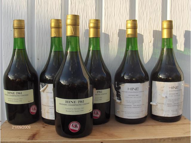 Hine Early Landed Grande Champagne Cognac 1961 (6)
