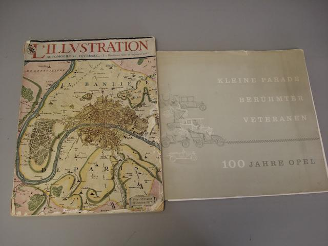 A copy of L'Illustration magazine,
