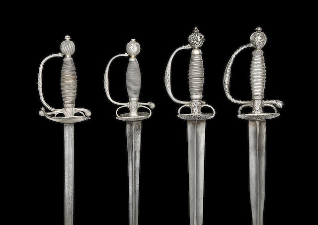 An English Silver-Hilted Small-Sword