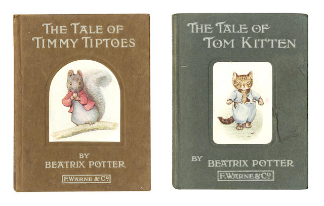 POTTER (BEATRIX) The Tale of Timmy Tiptoes, FIRST EDITION