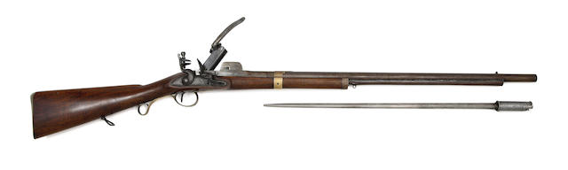 A Rare 16-Bore Crespi System Breech-Loading Flintlock Volunteer Carbine