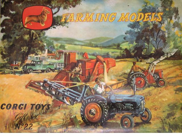 Corgi Gift Set 22 Farming Models