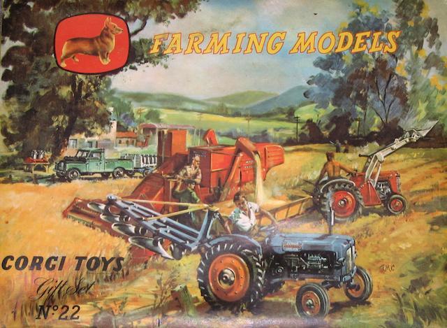Corgi Gift Set 22 Farming Models