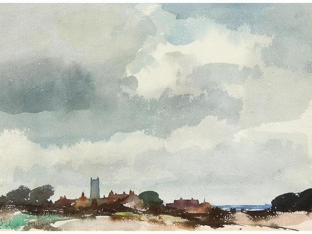 Edward Seago, R.W.S. (British, 1910-1974) Happisburgh, Norfolk