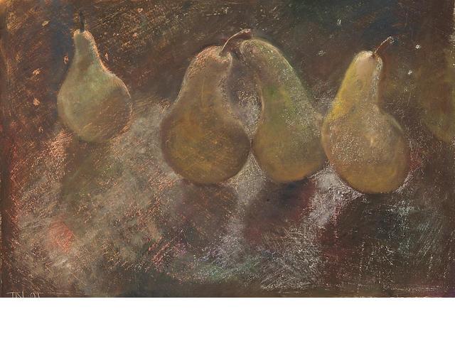 Tessa Newcomb (British, born 1955) 'Pears 1'
