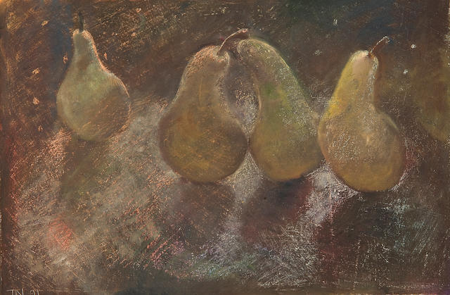 Tessa Newcomb (British, born 1955) 'Pears 1'