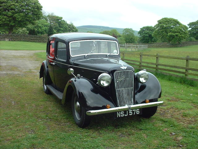 1939 Austin 12/4 Ascot Saloon  Chassis no. 68053 Engine no. 68053