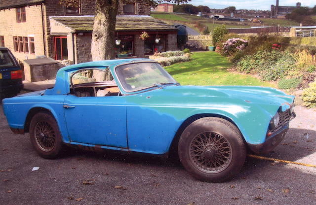 1964 Triumph TR4 Roadster  Chassis no. CT30584 O Engine no. CT 30314