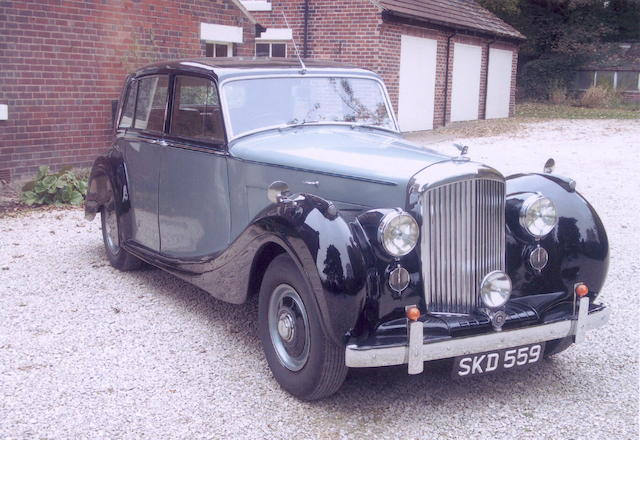 1948 Bentley Mark 6 Saloon,
