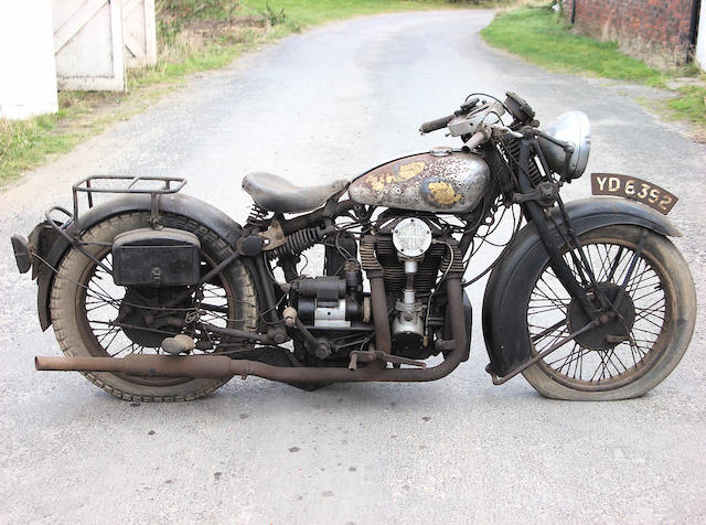 1933 Matchless Silver Hawk,