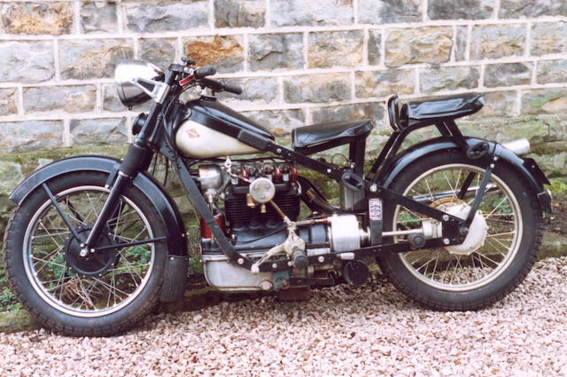 1938 Nimbus 746cc Four Frame no. 4329 Engine no. 90887