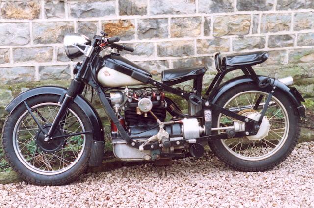1938 Nimbus 746cc Four Frame no. 4329 Engine no. 90887