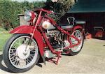 1939 Nimbus 746cc Four Sports Frame no. 5091 Engine no. 3110