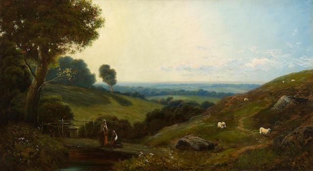 Edmund John Niemann (British, 1813-1876) 46 x 81cm.