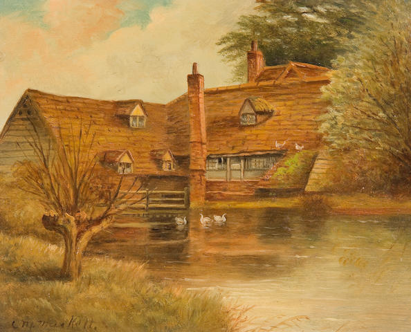 Christopher Mark Maskell (1846-1933) Amersham Town Mill