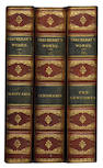 THACKERAY (WILLIAM MAKEPEACE) The Works, 12 vol.
