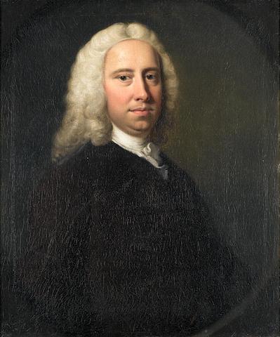 Thomas Hudson (Devonshire 1701-1779 Twickenham) Portrait of James Neave, half-length,