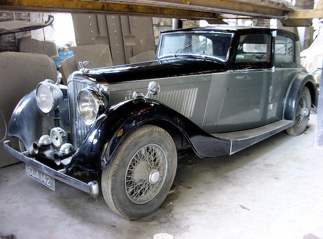 1935 Bentley 3 1/2 Litre Brougham ,