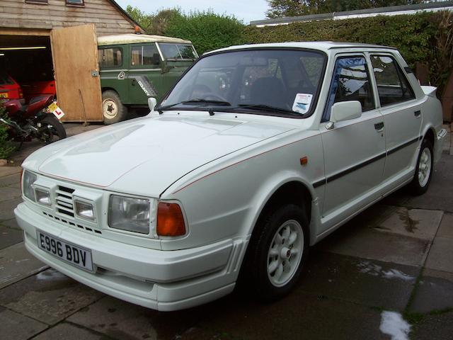1988 Skoda Sport 130L Saloon  Chassis no. TMB13MOOL53601498 Engine no. 5792872/130
