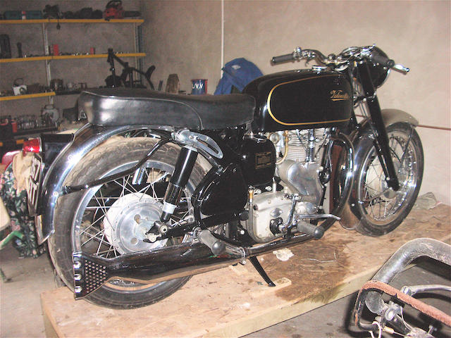 1962 Velocette 349cc Viper Frame no. RS 17665 Engine no. VR 3922