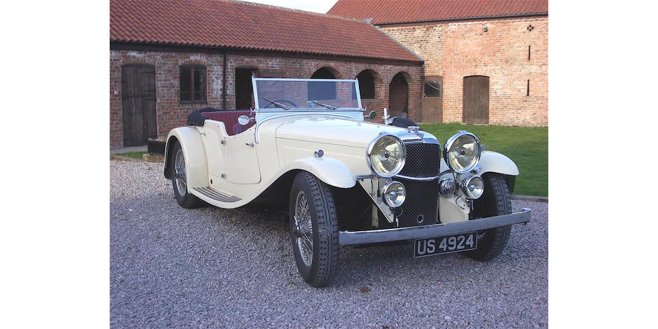 1934 Alvis Speed 20,