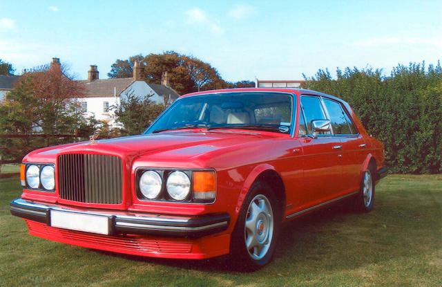 1987 Bentley Turbo R,