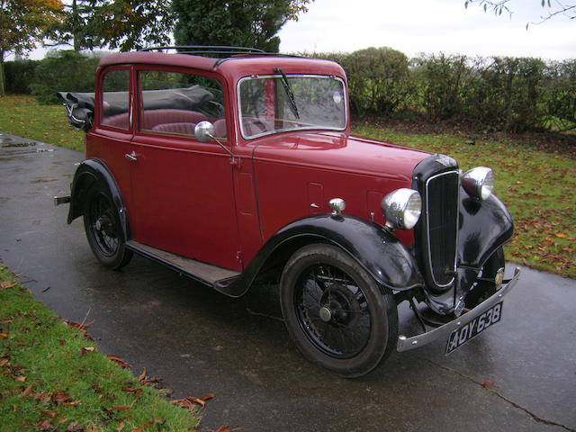 1935 Austin Pearl Cabriolet,