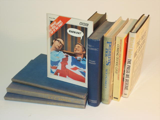 BBC yearbooks and other important wireless and broadcasting related reference books, the BBC yearbook run 1928-1987 and 1993,