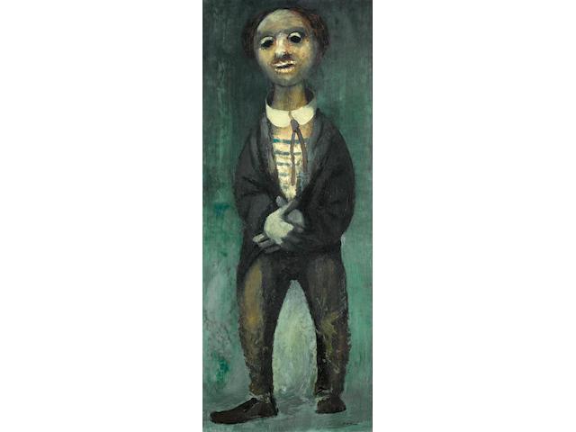 Daniel O'Neill (Irish, 1920-1974) Clown 76 x 30.5 cm. (30 x 12 in.)