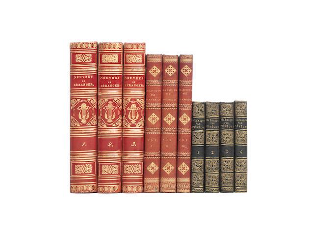 BINDINGS FENELON (FRANCOIS DE SALIGNAC DE LA MOTHE) Les aventures de Télémaque, fils d'Ulysse, 4 vol.