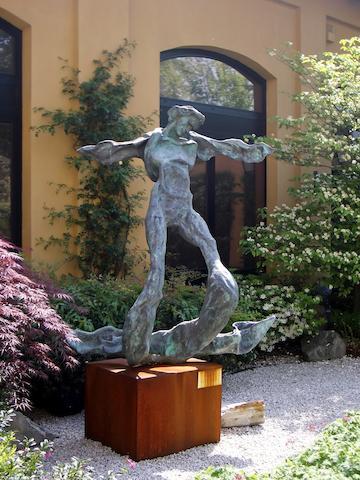 Salvador Dali (Spanish, 1904-1989) Winged Triton