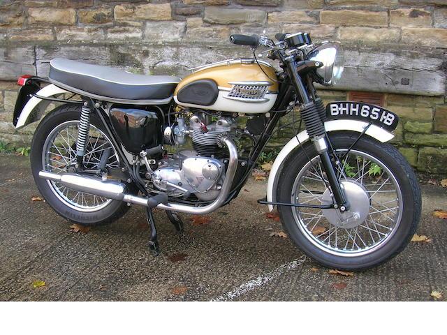 1964 Triumph T90,