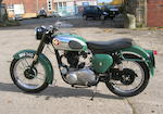 1960 BSA 348cc B31 Frame no. FB31 4163 Engine no. GB31 1109