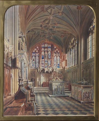 Thomas Hartley Cromek (British, 1809-1873) 63 x 50cm