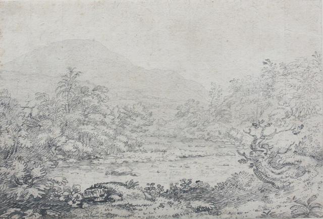 Joseph Farington, R.A. (British, 1747-1821) 22.5 x 32.5cm (largest) (2)